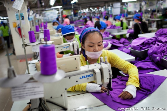 Labour Behind the Label, Shen Zhou garment factory (Cambodia)